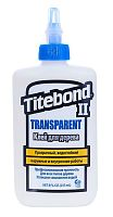 Клей Тайтбонд II Transparent Premium Wood Glue 237 мл для дерева ПВА
